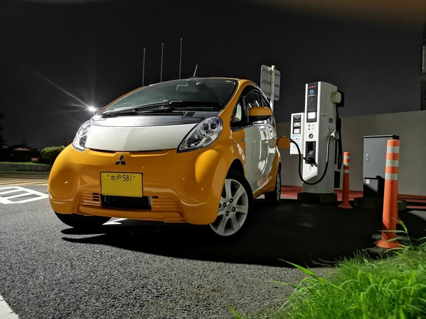 軽率に電気自動車を買った (三菱 i-MiEV)